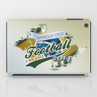 football iPad Cases featuring Football  by ArtAngelo