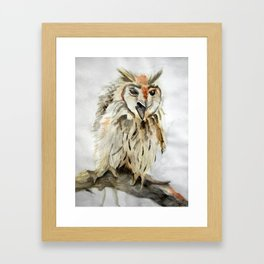 Little Screamer Framed Art Print