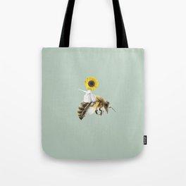 Bee Rider Tote Bag