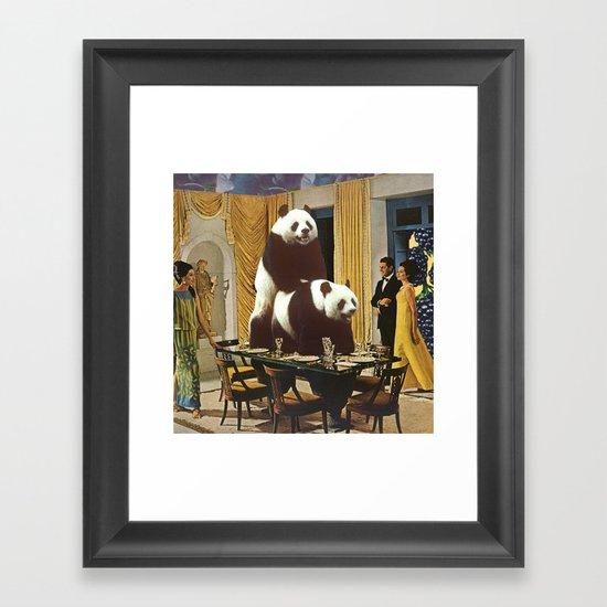 The Problem with Pandas Framed Art Print