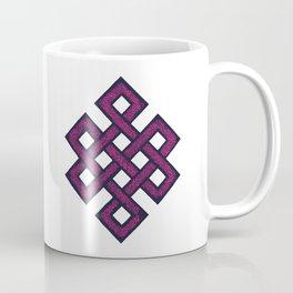 Eternal knot - pink Coffee Mug
