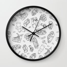 Ice Gear Wall Clock