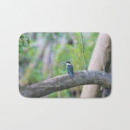 Collared Kingfisher Bath Mat