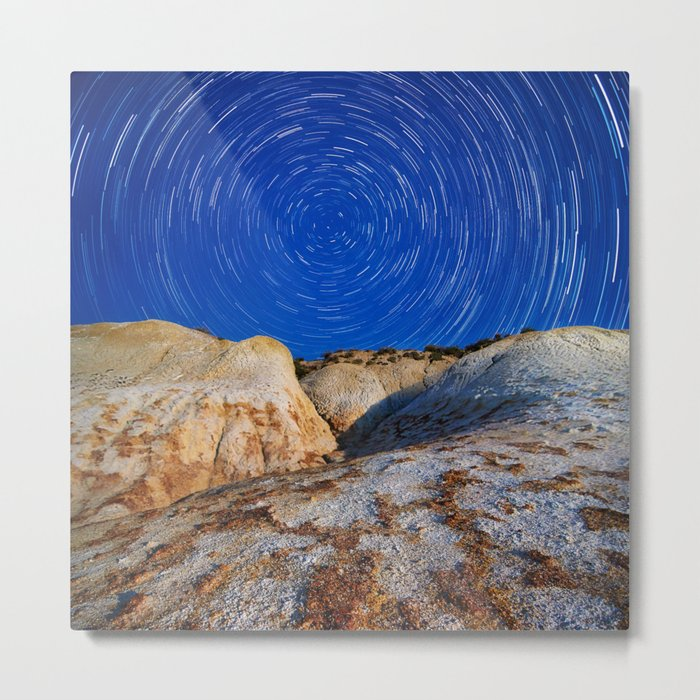 Up To the Milky Way Metal Print