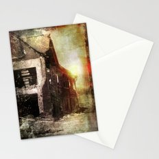 False Sunrise Stationery Cards
