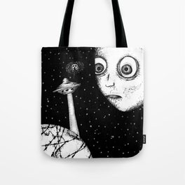 """Don't worry"" - Anxiety and Gretel Tote Bag"