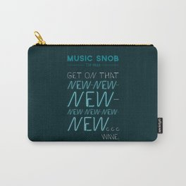 The NEW-New Wave — Music Snob Tip #629 Carry-All Pouch