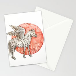 Spotted Pegasus Stationery Cards