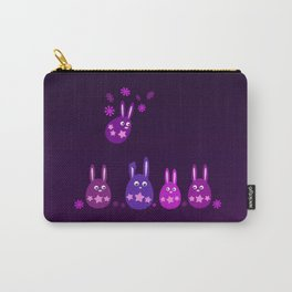 Easter Egg Bunnies - Make Room For Me! Carry-All Pouch