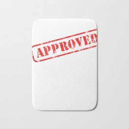 Graduation Gift Stamp Approved for Doctorate Bath Mat