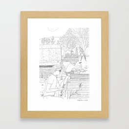 beegarden.works 005 Framed Art Print