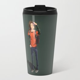 Ellie The last of us Pixel Art Travel Mug