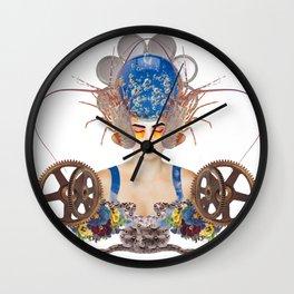 Sleeping Beauty by Lenka Laskoradova Wall Clock