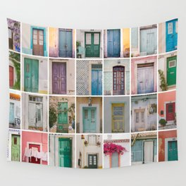 Travel Door Collection Wall Tapestry
