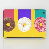donuts iPad Cases featuring Donuts by Danny Ivan