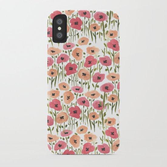 Garden Print iPhone Case
