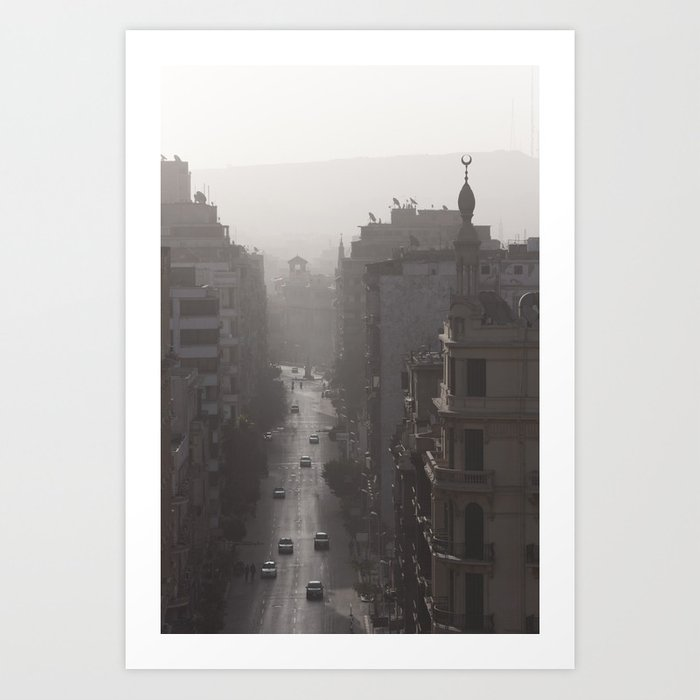 Downtown Cairo Art Print