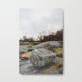 Winter landscape south of Norway Metal Print