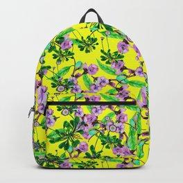 daisy yellow Backpack