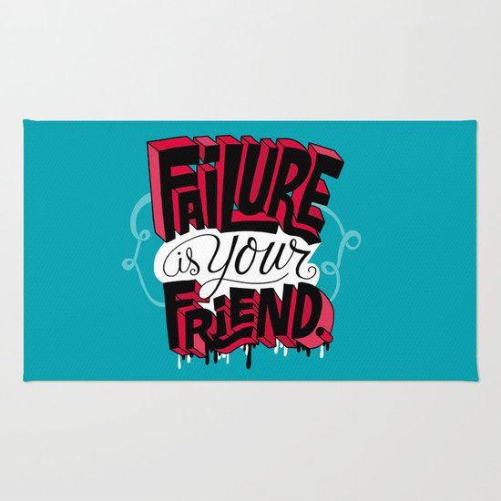 Failure is your Friend Rug