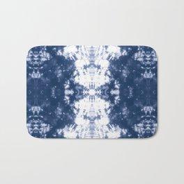 Shibori 6 Indigo Blue Bath Mat