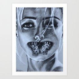 Breath of Secrets Art Print