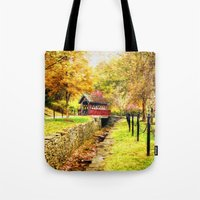 whisky Tote Bags featuring Whisky Creek by ThePhotoGuyDarren