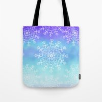 tye dye Tote Bags featuring Tye dye and Lace by Ann Bridges