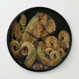 Beautiful Beast - Octopus Wall Clock
