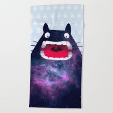 My Neighbor Cosmos Beach Towel