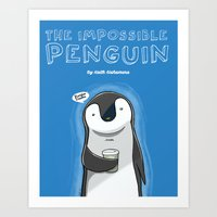 The Impossible Penguin Art Print