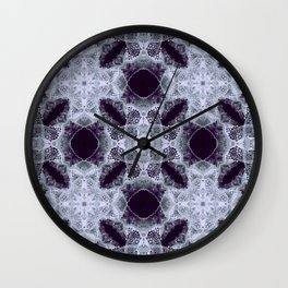 Art Nouveau in the dark Wall Clock