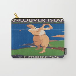 Vintage poster - Vancouver Island Carry-All Pouch