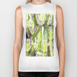 Cactus of desert plants Biker Tank