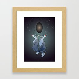Cosmology Framed Art Print