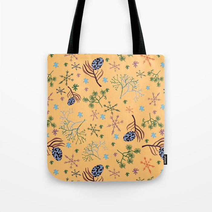 Winterpattern2 Tote Bag