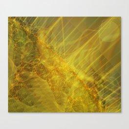 Burning Seams 2 Canvas Print