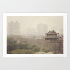 Xi'an Art Print