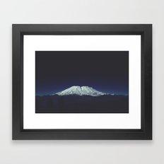 Mount Saint Helens Framed Art Print
