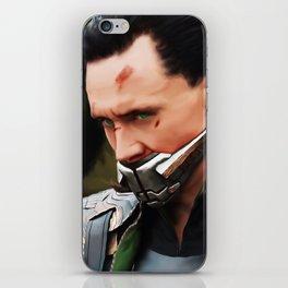 Loki Digital Painting  iPhone Skin