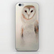 Owl in the fog iPhone & iPod Skin
