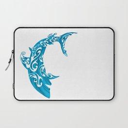 Shark Dive Watercolor Save A Shark Laptop Sleeve