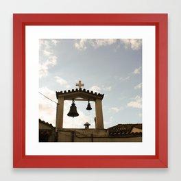 Bells in Athens, Greece Framed Art Print