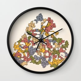 My Head Is In The Clouds #1 Wall Clock