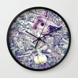 1 Apple Tree Ln. Wall Clock