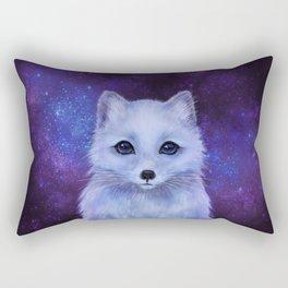 Arctic Fox (color version II.) Rectangular Pillow