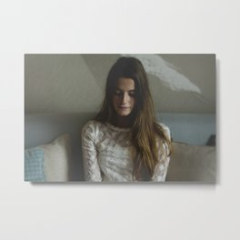 Virgin Thoughts Metal Print