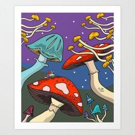 Gnome-one Around Art Print