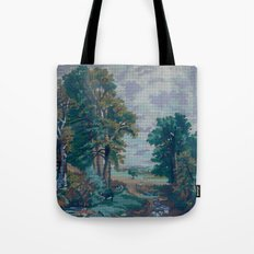 Green Forest by Lika Ramati  Tote Bag