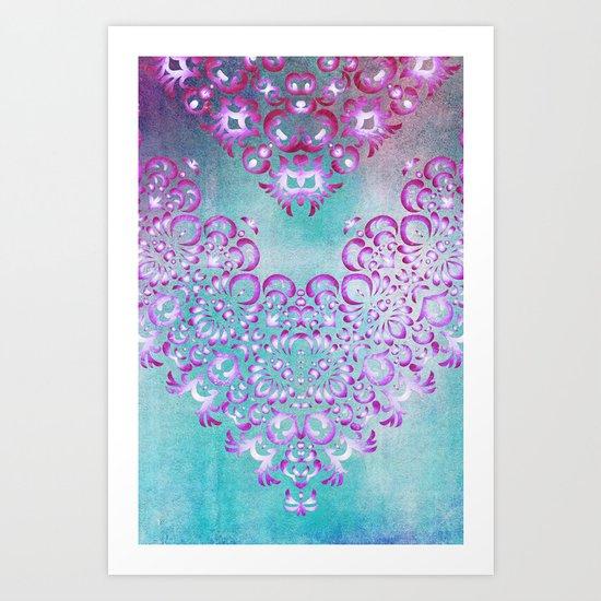 Floral Fairy Tale Art Print